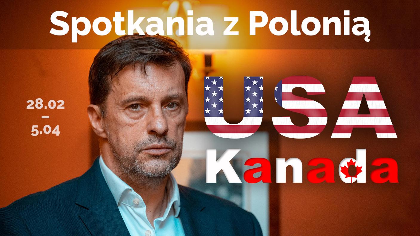 Spotkania z Polonią w USA i Kanadzie